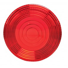 """2-7/8"""" Red Replacement Lens"""