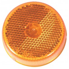 """2-1/2"""" Round Amber Clearance & Marker Light"""